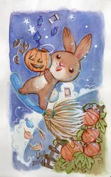 Fall Bunny Candy