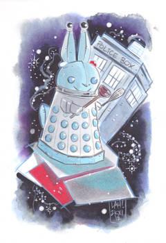 Commission: Bunny Dalek