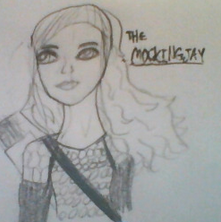 The Mockingjay by TheMustacheQueen