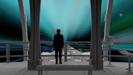 Stargate Universe FTL test.