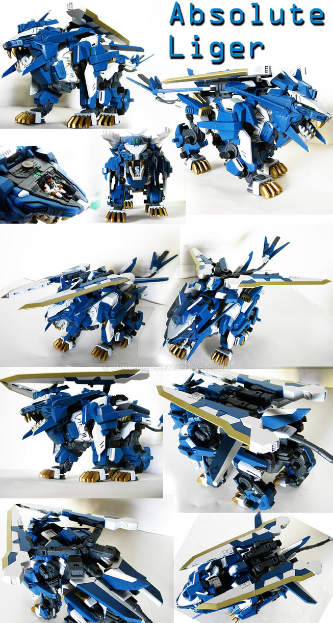 Zoid Custom - Absolute Liger by Juno-Uno
