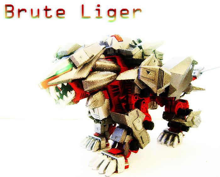 Zoid Custom - Brute Liger by Juno-Uno