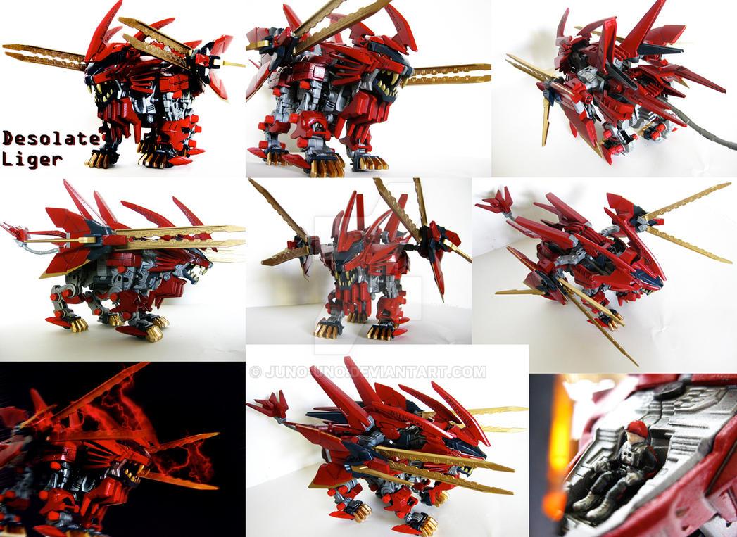 Zoid Custom - Desolate Liger by Juno-Uno