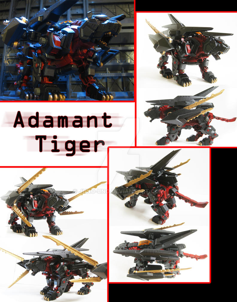 Zoid Custom - Adamant Tiger by Juno-Uno