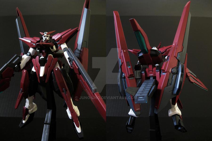 Gundam Harute - Crimson ver. by Juno-Uno
