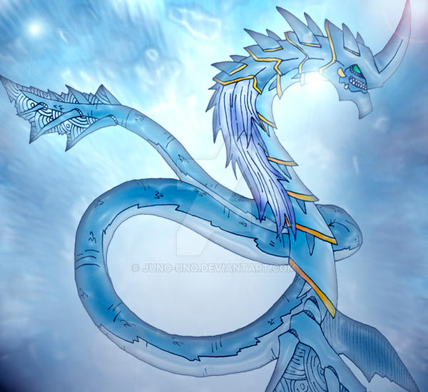 Seibora the water dragon 2 by Juno-Uno
