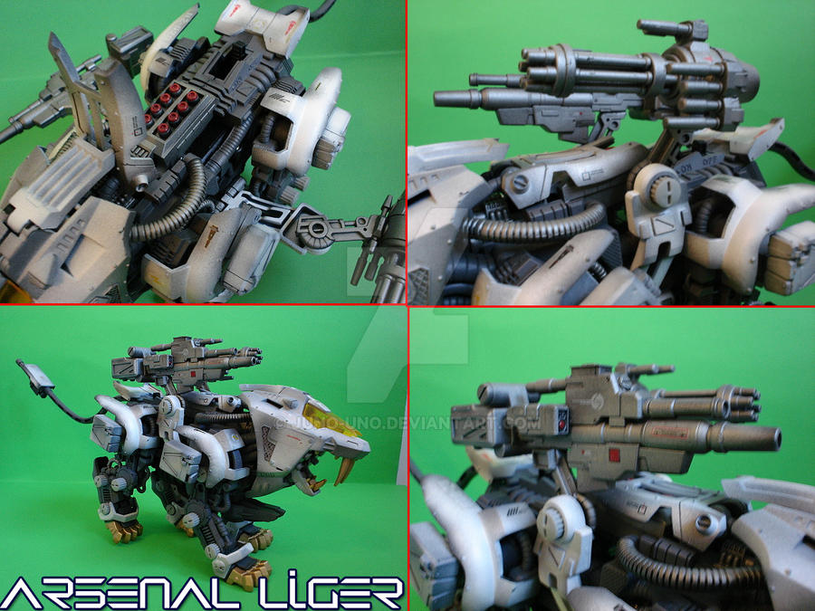 Arsenal Liger by Juno-Uno