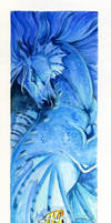 Seahorse bookmark
