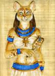 Papyrus Baast