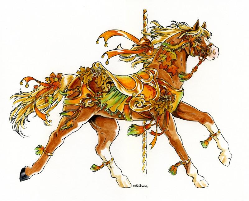 Carousel Autumn Final By Hbruton On DeviantArt