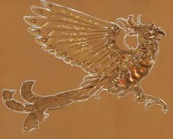 Clockwork Phoenix by Hbruton