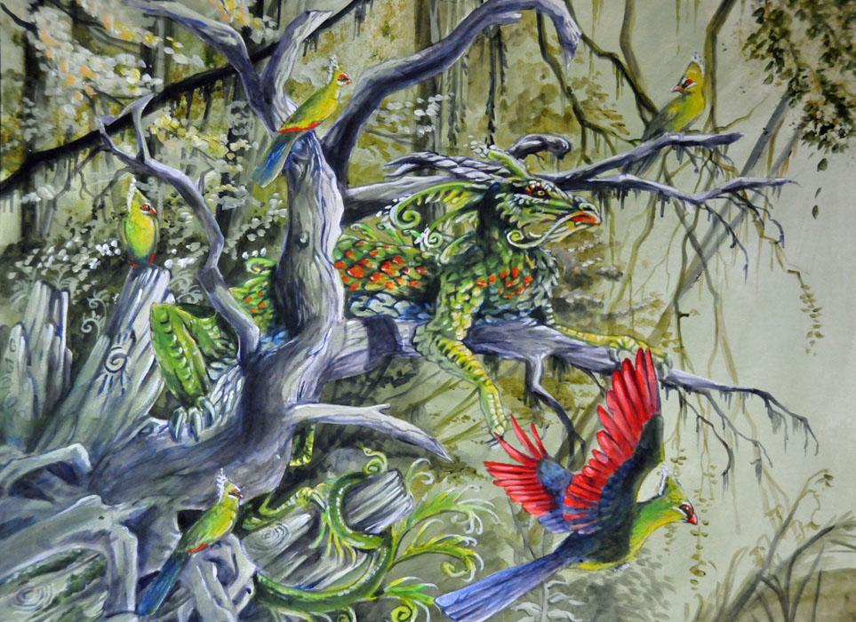 Earth Dragon Final by Hbruton