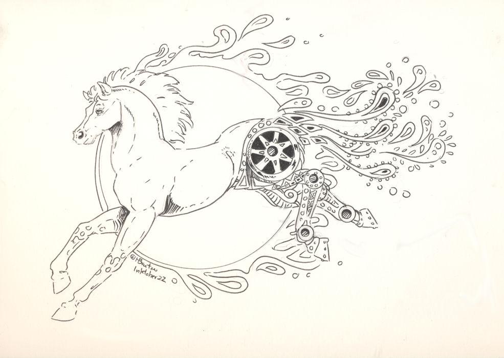Paisley Pony: Inktober 22 by Hbruton