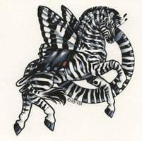 Zebra Swallowtail by Hbruton