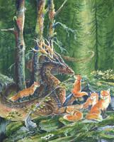 Fox Wood by Hbruton