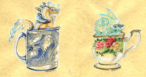 Tea Cup Dragons Combined