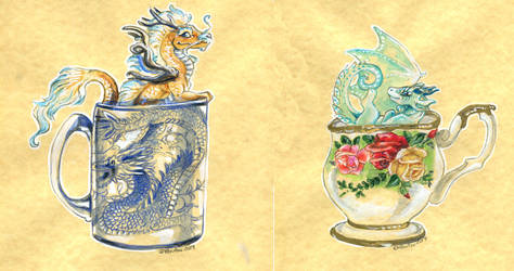 Tea Cup Dragons Combined by Hbruton