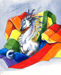 Pride Dragon by Hbruton