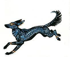 Mandala Anubis