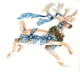 Yule Caribou