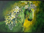 Earth Day :Green Horse