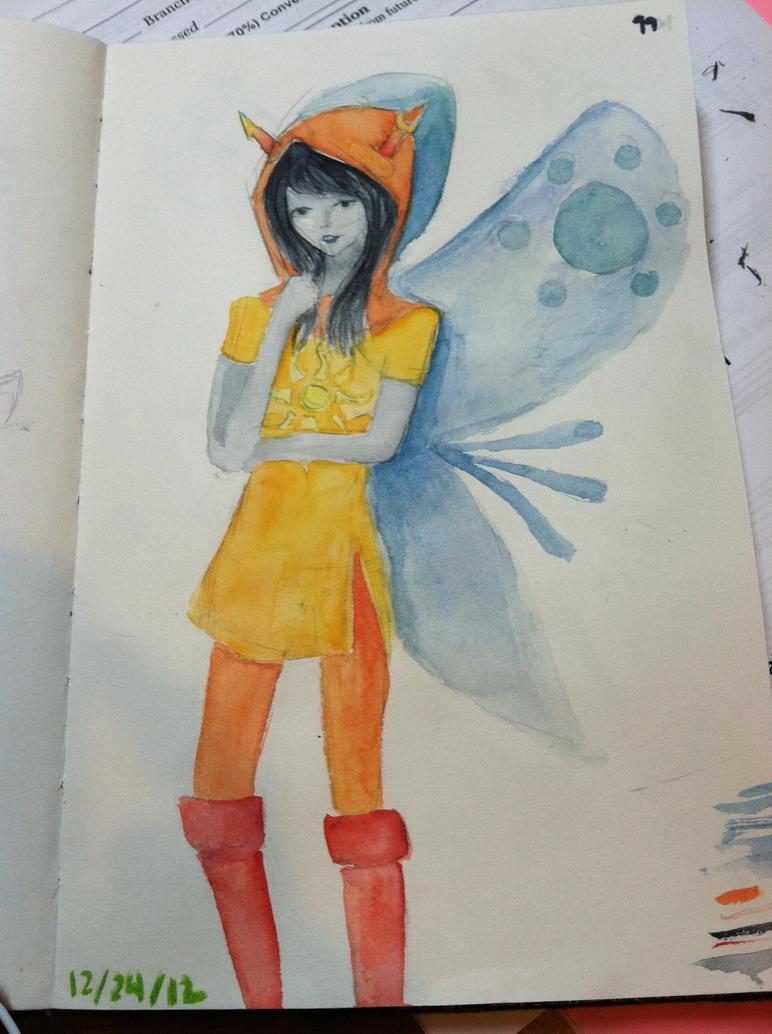 Vriska God Tier by OrangeDinoXP