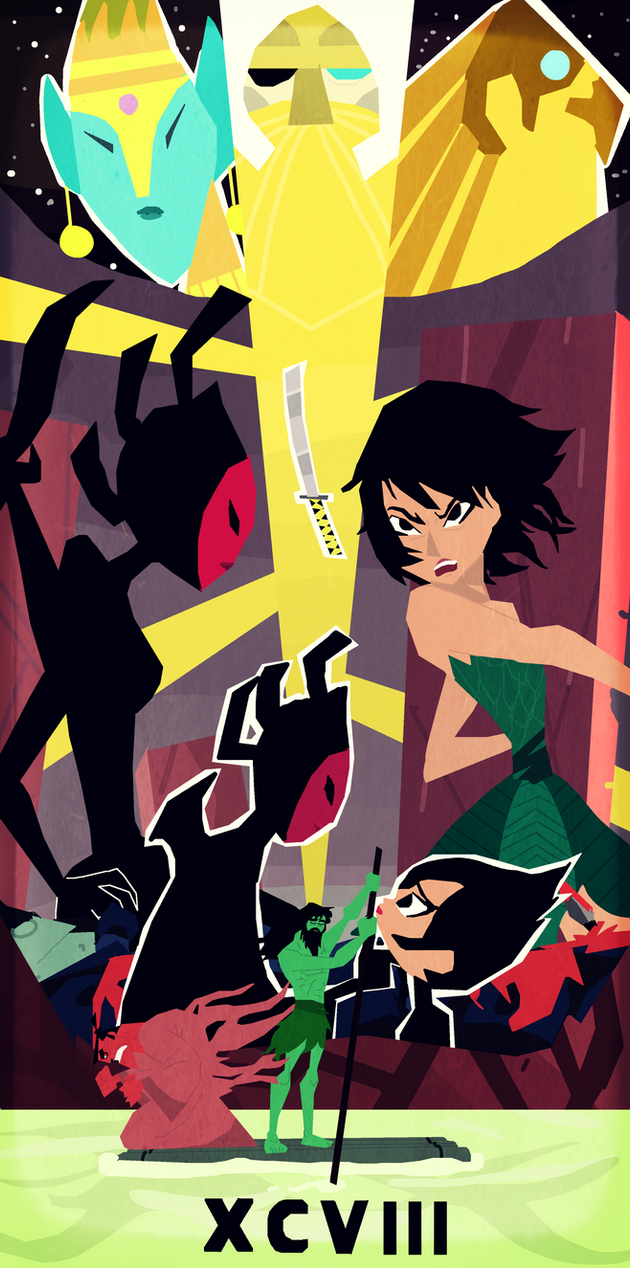Samurai Jack XCVI by WildManta on DeviantArt