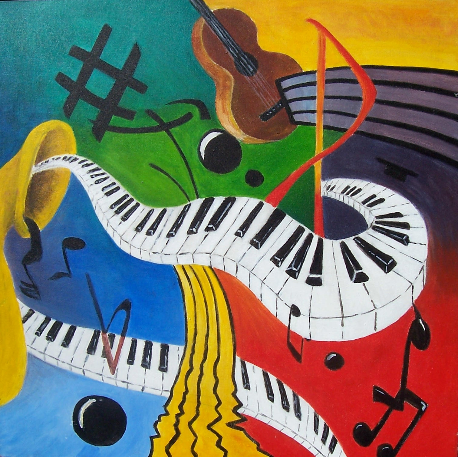 Musical Instruments by Clukyrat on DeviantArt