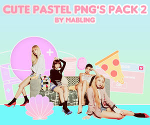 Cute Pastel Png's - Pack 2 - by mabling by mabling
