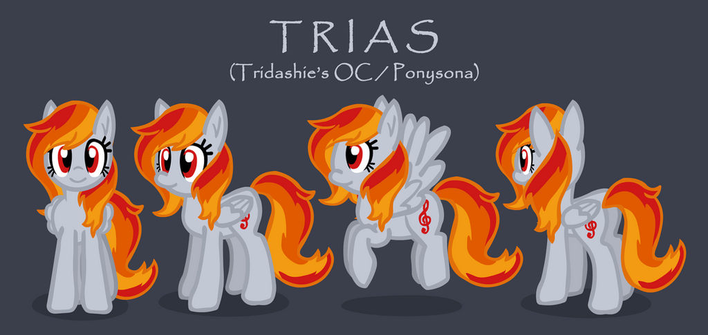 Trias (Tridashie's OC/Ponysona)