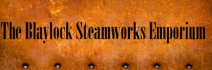 Blaylock Steamworks Emporium Store Banner 2016