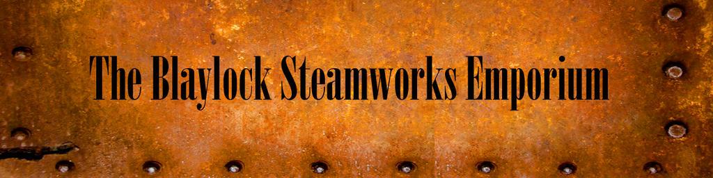 Blaylock Steamworks Emporium Store Banner 2016 by janus002