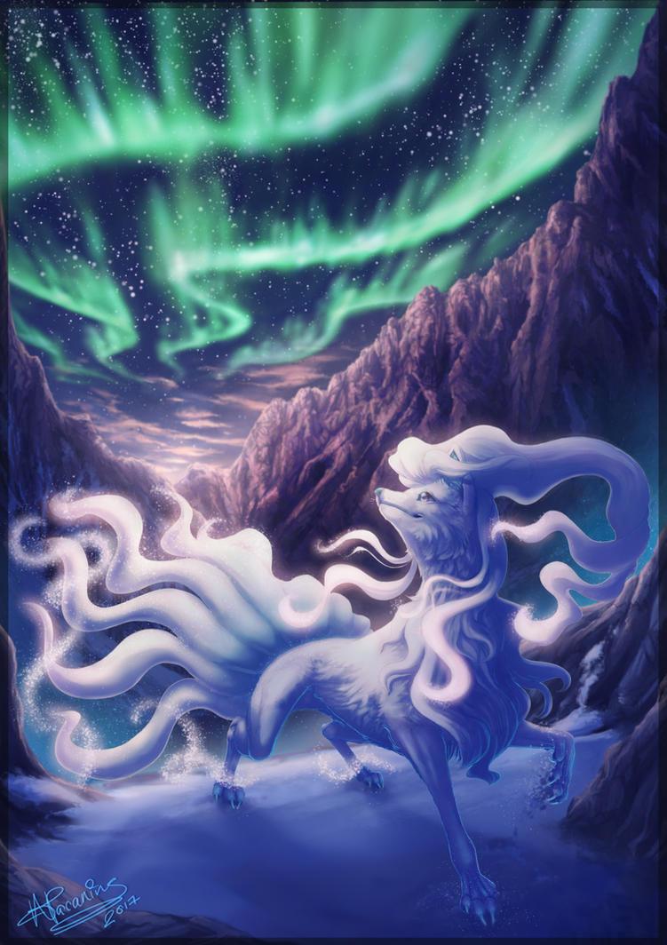 Alolan Ninetales By Seadraz On Deviantart