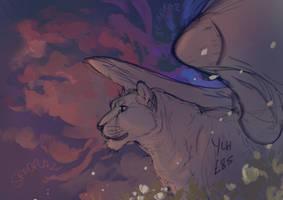 = YCH = Flowering Skies - SOLD