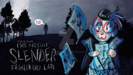 D8 Night: Slender The Arrival Title card