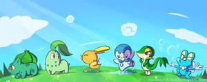 Sky's Favorite Starter Pokemon