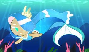 Sea Mermaid Cookie