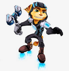 Ratchet and Clank - Hoverboots (V2)