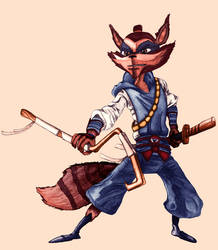 Rioichi Cooper V2 (Sly Cooper: Thieves In Time)