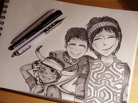 Ueda Bros - Ico, Ichi and Wander