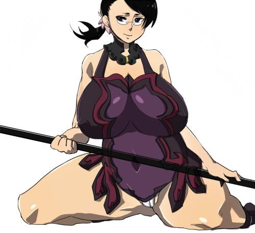 Queen's Blade - Cattleya by z-kakka