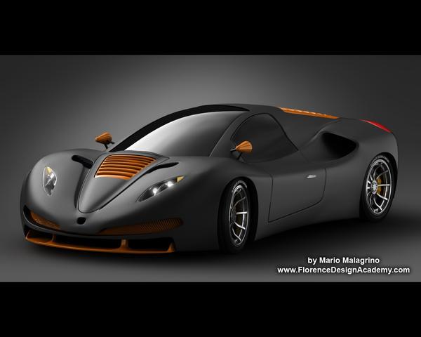 Concept-Car by MarioMalagrino