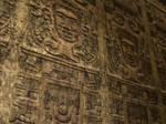 Inner Aztech Temple Wall