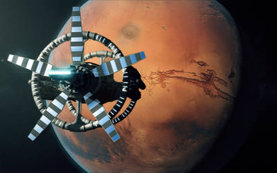 Red Planet by manwesulemo