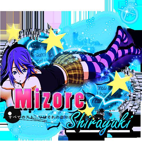 | Mizore Shirayuki | by Tokito-Ishida