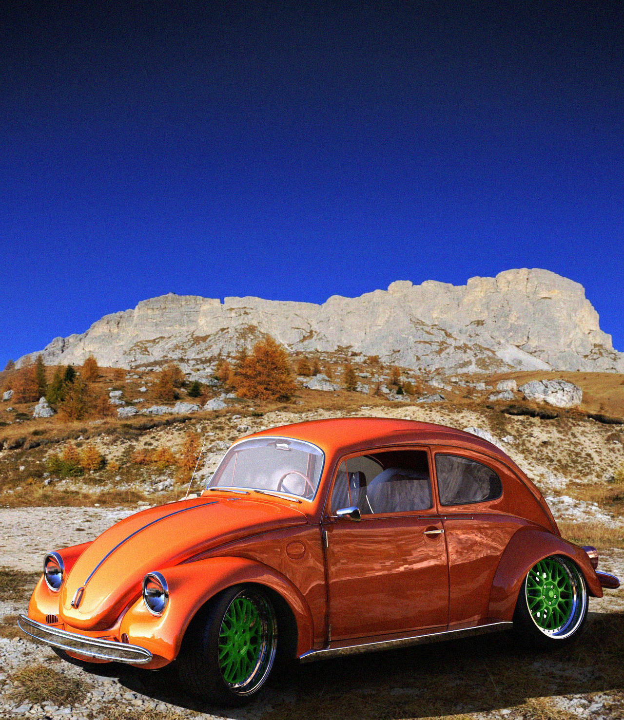VW Beetle Cool Rims By Mandeologul On DeviantArt