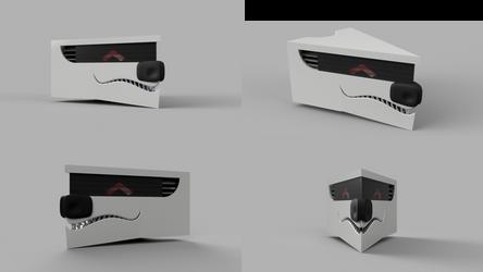 Rex head render