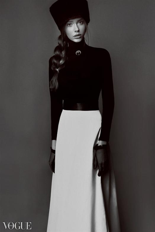 Katherine on Vogue.it! by YuliaSpesivtseva