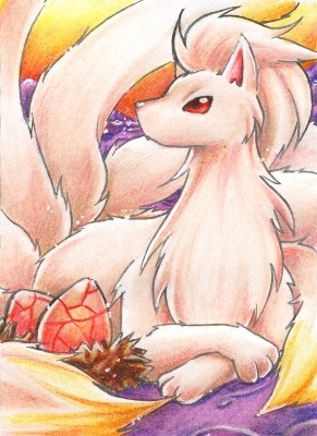 Ninetails by Hyacinthley