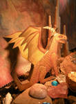Paper Dragon 2 by LaurasMuse